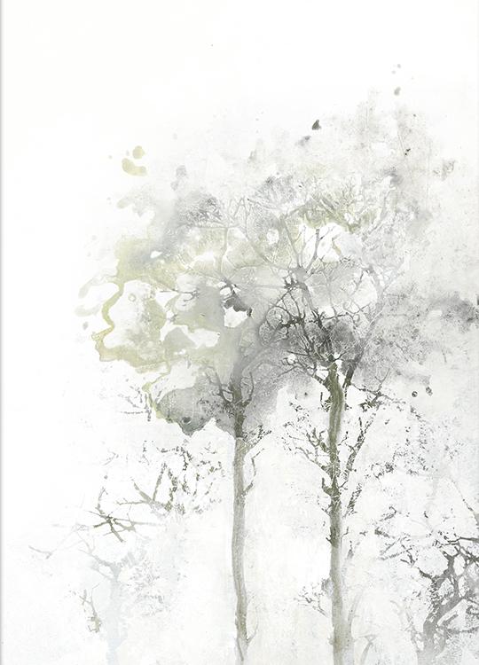 TREE SHAPE 2 POSTER, artroom, Artroom, nettgalleri, postere, bilder, rammer, plakater