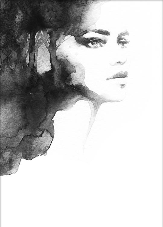 LADY OF LIGHT POSTER, artroom, Artroom, nettgalleri, postere, bilder, rammer, plakater