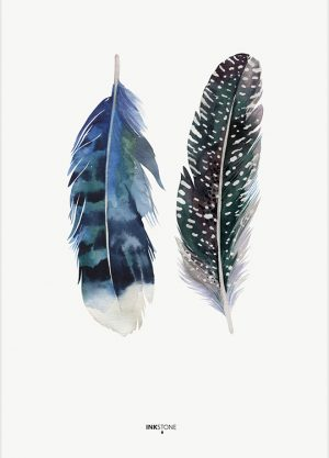 INDIAN FEATHER POSTER