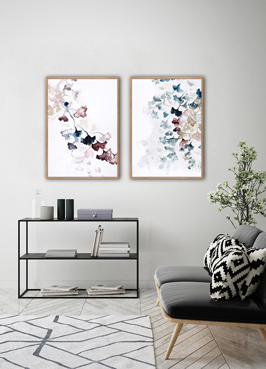 PURPLE SPRING POSTER, artroom, Artroom, nettgalleri, postere, bilder, rammer, plakater