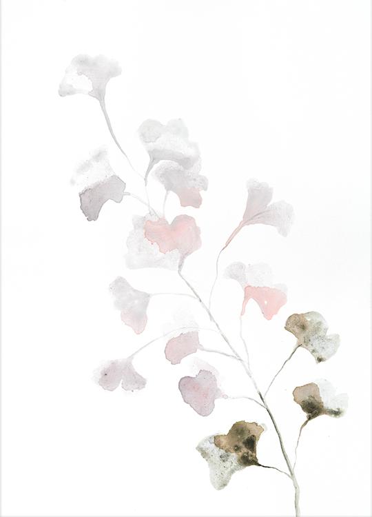 pink spring poster, art room, Artroom, nettgalleri, postere, bilder, rammer, plakater