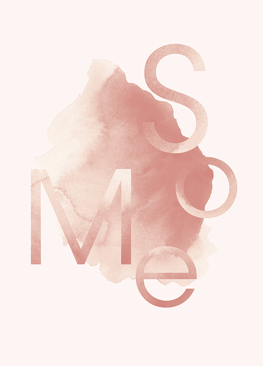 SO ME POSTER