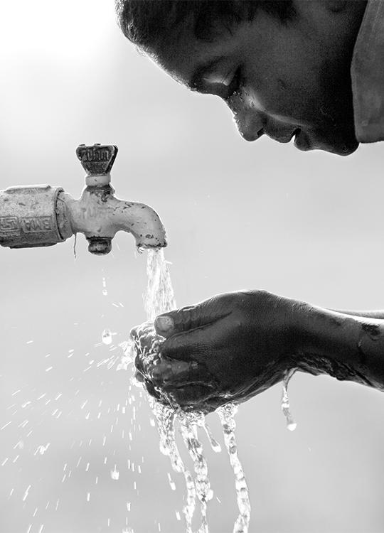 WATER TAP POSTER