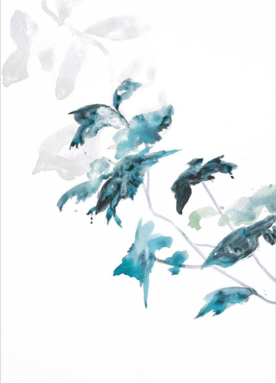 flowers 2 poster, artroom