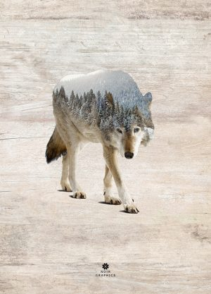 WOLF POSTER, artroom