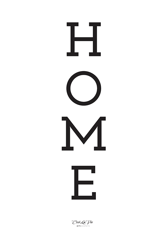 home poster, artroom
