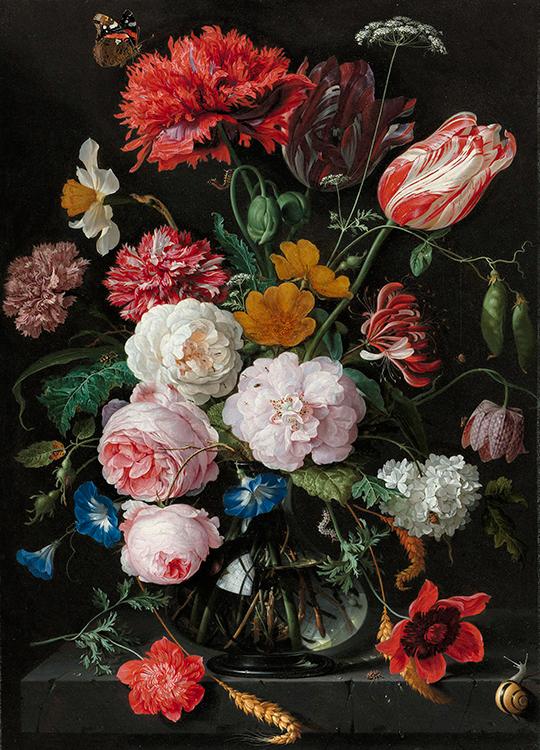 flower position poster, artroom