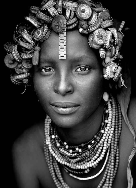 african beauty poster, artroom