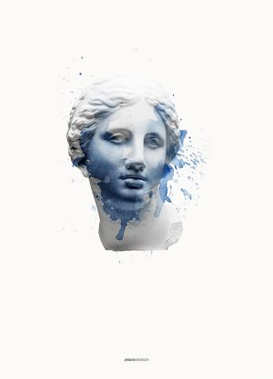 APHRODITE SPACE POSTER, artroom