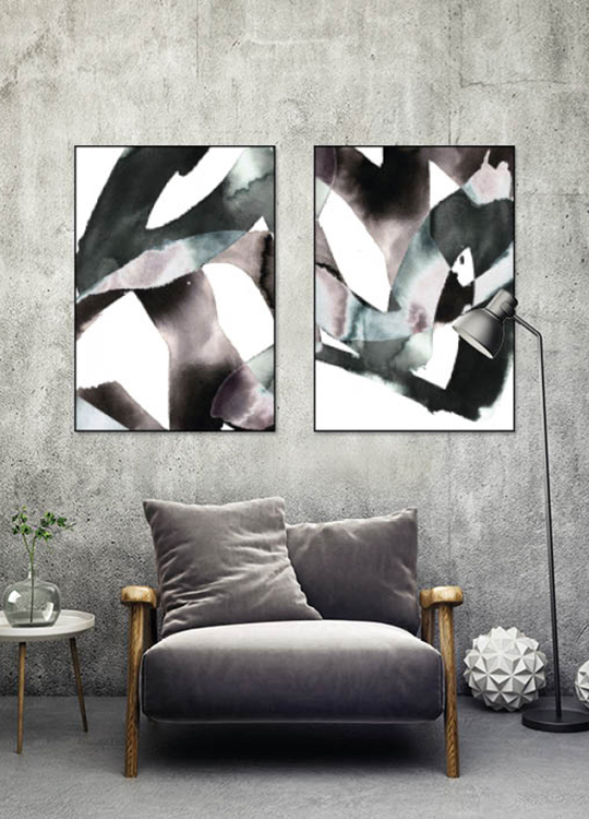 Ypperlig Interiørtips - Få inspirasjon til din veggdekor | Artroom HB-61