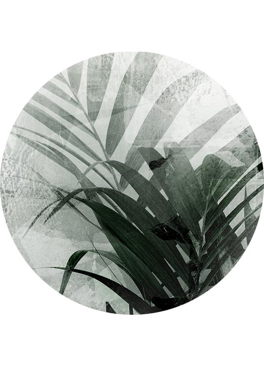LARGE GRASS CIRCLE ART