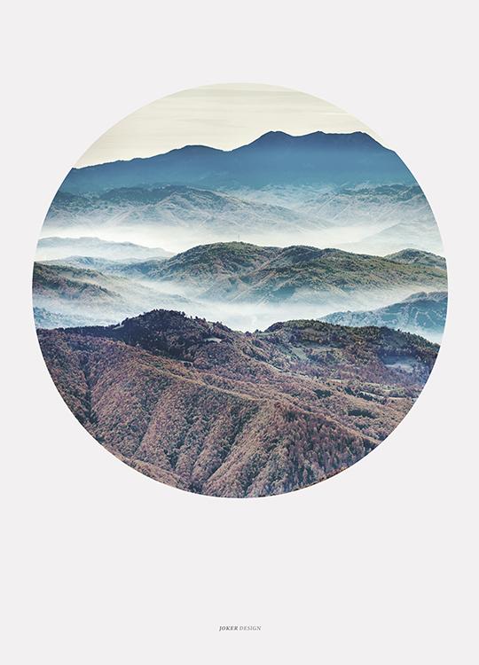 CIRCLE MISTY MOUNTAINS