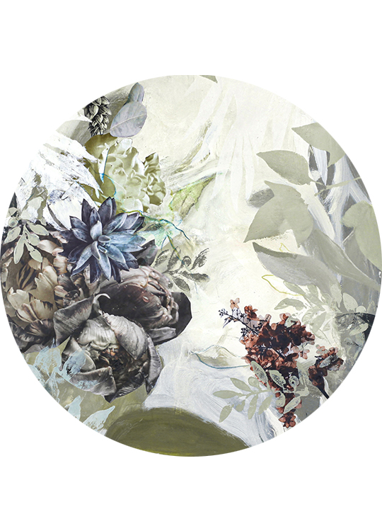 GREEN GARDEN 1 CIRCLE ART, artroom.no