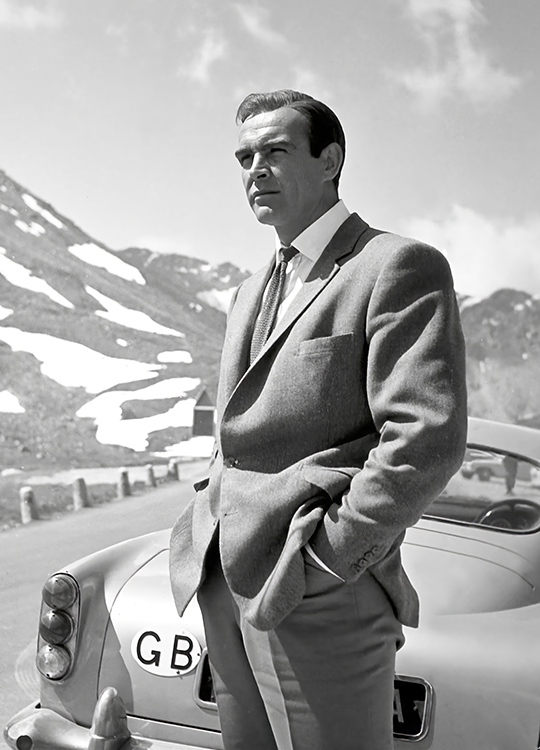 SEAN CONNERY 1 POSTER, artroom.no