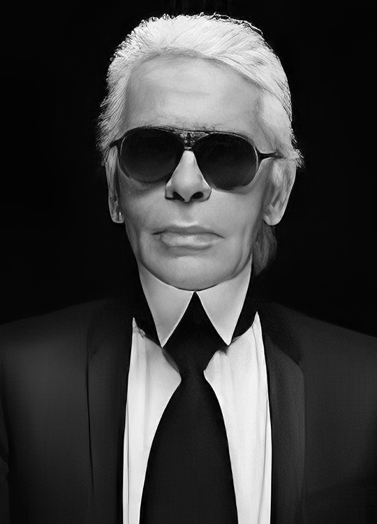 KARL LAGERFELD 1 POSTER, artroom.no