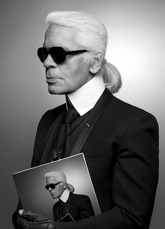 KARL LAGERFELD 2 POSTER, artroom.no