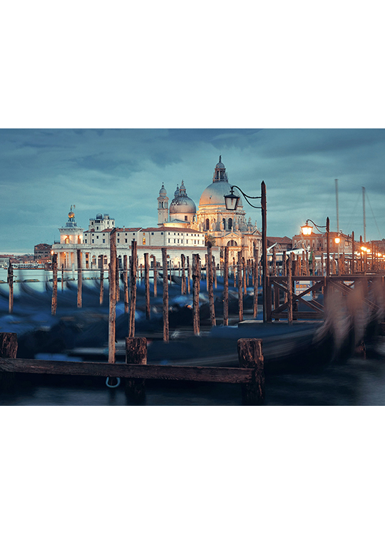VENICE IN BLUE POSTER, artroom.no