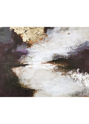 TOUCH OF PURPLE 150X120CM MALERI
