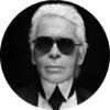 KARL LAGERFELD 1 CIRCLE ART, artroom.no