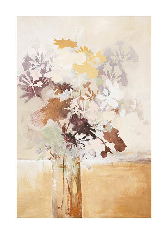 PASTEL FLOWER 1 POSTER, artroom.no