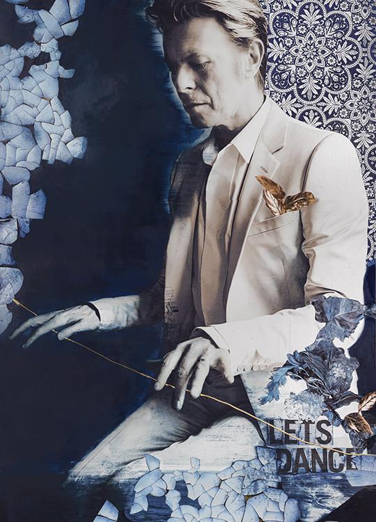 DAVID BOWIE COLOR POSTER, artroom.no