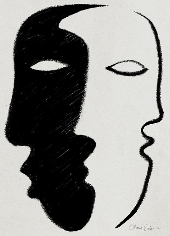 FACE TO FACE POSTER, artroom.no